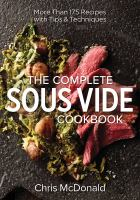 Complete Sous Vide Cookbook