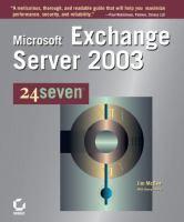 Microsoft Exchange Server 2003 24seven