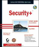 Security+ Study Guide Second Edition