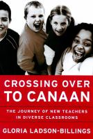 Cover of Crossing Over to Canaan: T