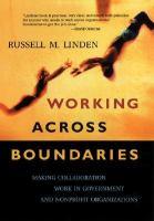 Working Across Boundaries