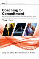 Coaching for Commitment