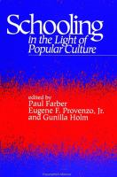 Schooling in the Light of Popular Culture