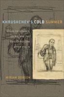 Khrushchev's Cold Summer