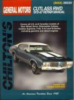 Chilton's General Motors Cutlass RWD 1970-87 Repair Manual