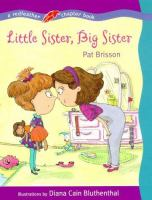 Little Sister, Big Sister (Redfeather Chapter Book)