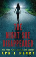 The Night She Disappeared
