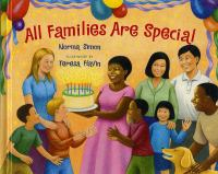 Cover of All Families Are Special