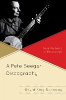 A Pete Seeger Discography