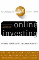 The Wall Street Journal Interactive Edition's Guide to Online Investing