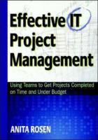 Effective IT Project Management