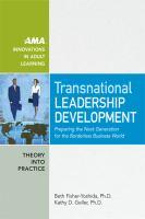 Transnational Leadership Development