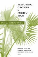 Restoring Growth in Puerto Rico