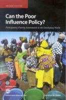 Can the Poor Influence Policy?
