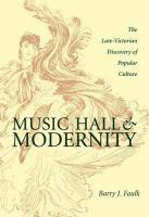 Music Hall & Modernity