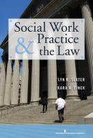 Social Work Practice the Law