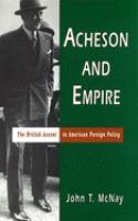 Acheson and Empire