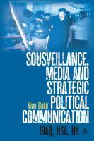 Sousveillance, Media and Strategic Political Communication