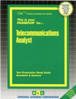 Telecommunications Analyst