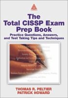 The Total CISSP Exam Prep Book