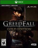 GreedFall.1 computer disc : sound, color ; 4 3/4 in.