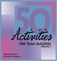 50 Activities for Team Building