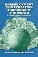 Unemployment Compensation Throughout the World