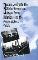 Britain Confronts the Stalin Revolution
