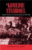 Komedie Stamboel