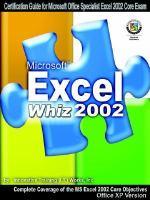 Microsoft Excel Whiz 2002