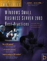 Windows Small Business Server 2003 Best Practices