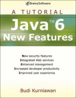 Java 6 New Features