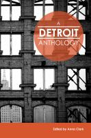 Cover of A Detroit anthology