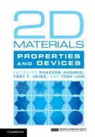 2D materials: properties and devices cover