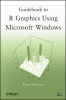 Guidebook to R Graphics Using Microsoft Windows