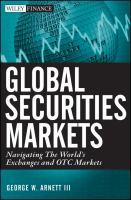Global Securities Markets