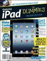 Exploring IPad for Dummies, 2nd Edition