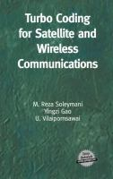 Turbo Coding for Satellite and Wireless Communications