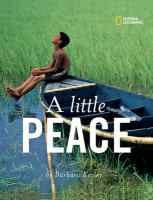 A Little Peace by Barbara Kerley, book cover