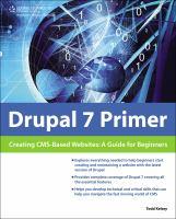 Drupal 7 Primer