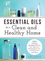 Essential Oils for a Clean and Healthy Home book cover