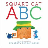 Square Cat ABC by Elizabeth Schoonmaker, book cover