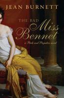 Bad Miss Bennet