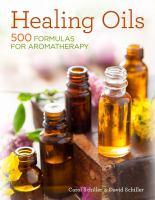Healing oils book cover