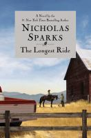 The Longest Ride book cover
