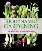 Biodynamic Gardening book cover