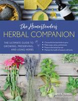 Homesteader's herbal companion book cover