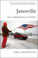 Cover of Janesville: An American St
