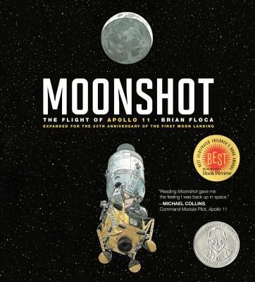 Moonshot: The Flight of Apollo 11: Expanded for the 50th Anniversary of the First Moon Landing(book-cover)