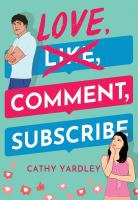 LOVE, COMMENT, SUBSCRIBE.1 volume.